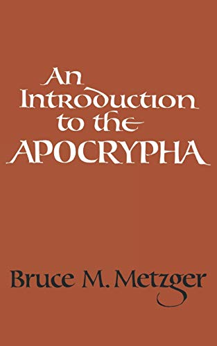 9780195023404: An Introduction to the Apocrypha