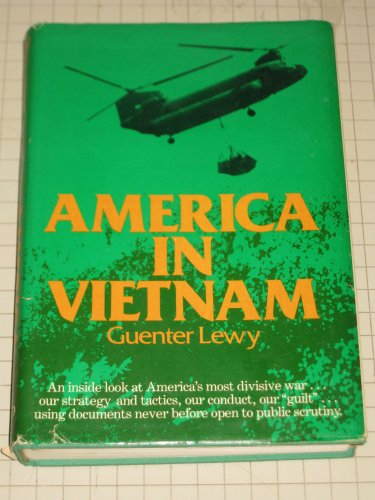 America in Vietnam.: Lewy, Guenther.