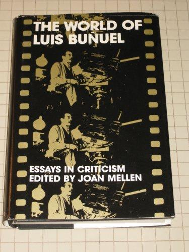 9780195023985: World of Luis Bunuel: Essays in Criticism