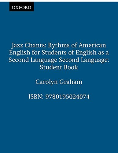 9780195024074: Jazz Chants