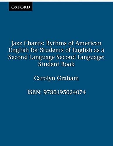 9780195024074: Jazz Chants