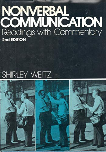 9780195024470: Nonverbal Communication: Readings With Commentary