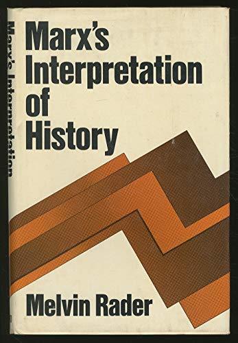 9780195024746: Marx's Interpretation of History