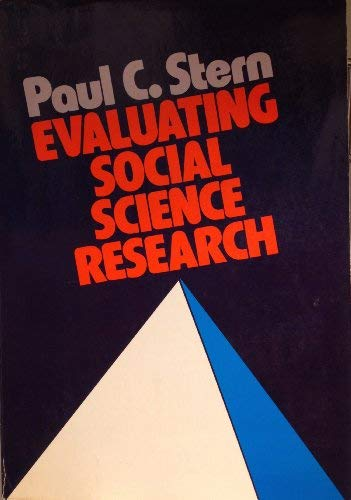 9780195024807: Evaluating Social Science Research