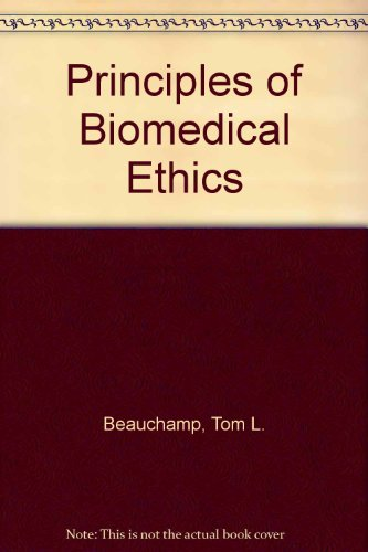 9780195024883: Principles of Biomedical Ethics