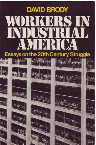 9780195024913: Workers in Industrial America: Essays on the Twentieth Century Struggle