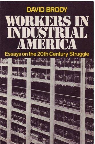 9780195024913: Workers in Industrial America: Essays on the Twentieth Century Struggle