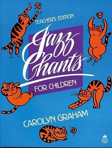 9780195024975: Jazz Chants for Children®: Teacher's Edition