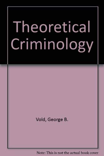 9780195025309: Theoretical Criminology 2nd Edition