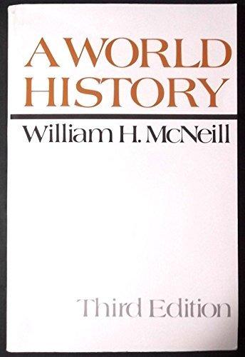 9780195025552: A World History