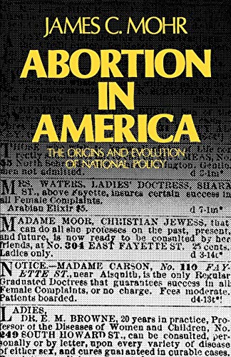 9780195026160: Abortion in America: The Origins and Evolution of National Policy (Galaxy Books)