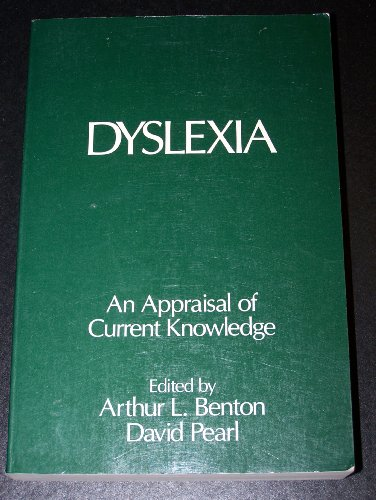 9780195027105: Dyslexia: An Appraisal of Current Knowledge