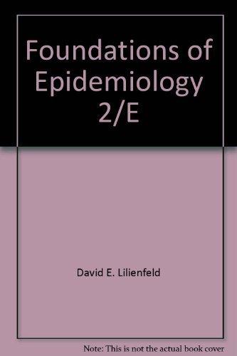 9780195027228: Foundations of Epidemiology