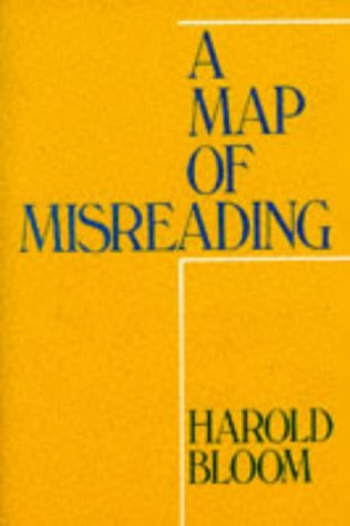 9780195028096: A Map of Misreading (Galaxy Books)