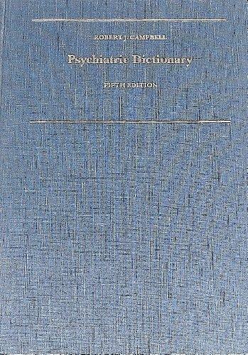 Psychiatric Dictionary: Hinsie, Leland E.;