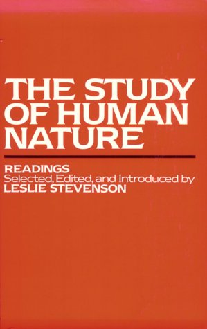 9780195028270: The Study of Human Nature: Readings