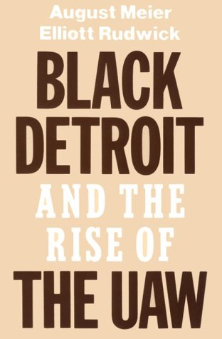 9780195028959: Black Detroit and the Rise of the UAW