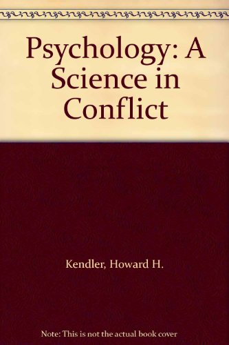 9780195029000: Psychology: A Science in Conflict