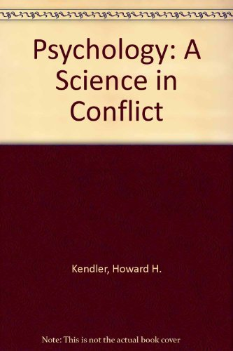 9780195029017: Psychology: A Science in Conflict