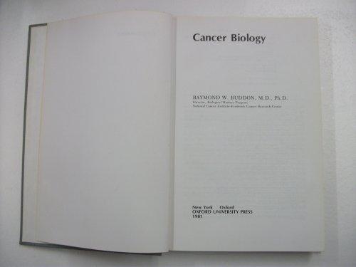 9780195029420: Cancer Biology