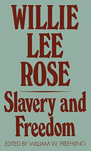 9780195029697: Slavery and Freedom