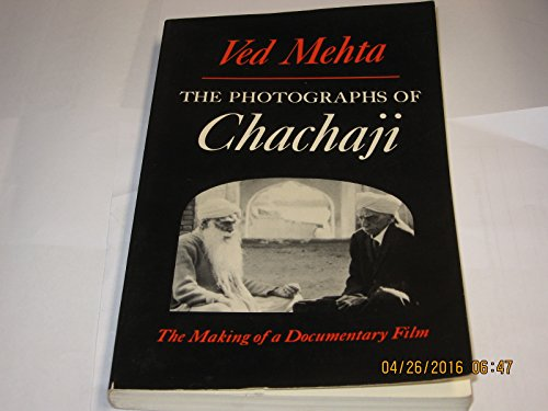9780195030631: Photographs of Chachaji: The Making of a Documentary Film