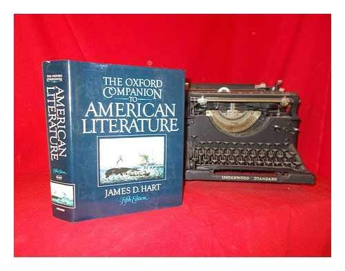9780195030747: The Oxford Companion to American Literature