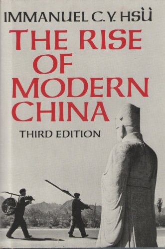 9780195031409: The Rise of Modern China