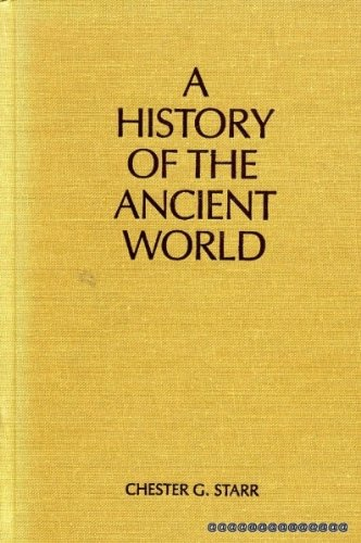 A History of the Ancient World. 3rd Edition.
