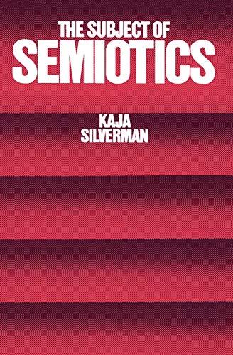 9780195031782: The Subject of Semiotics