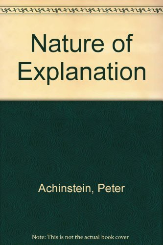 9780195032154: Nature of Explanation