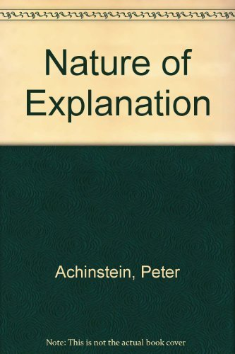 9780195032154: The Nature of Explanation