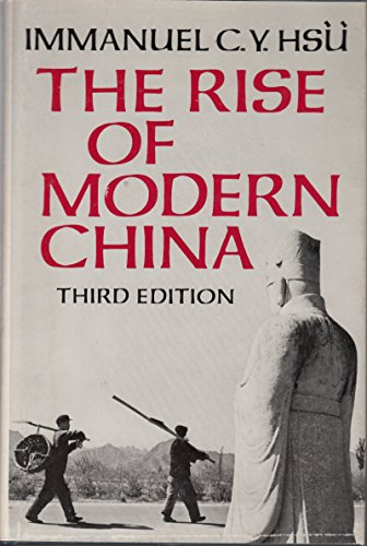 9780195032185: The Rise of Modern China