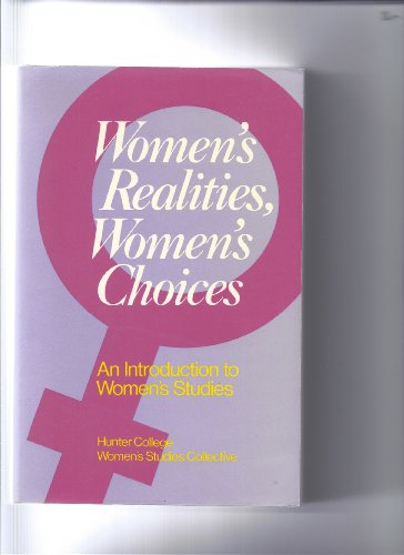9780195032284: Women's Realities, Women's Choices: An Introduction to Women's Studies