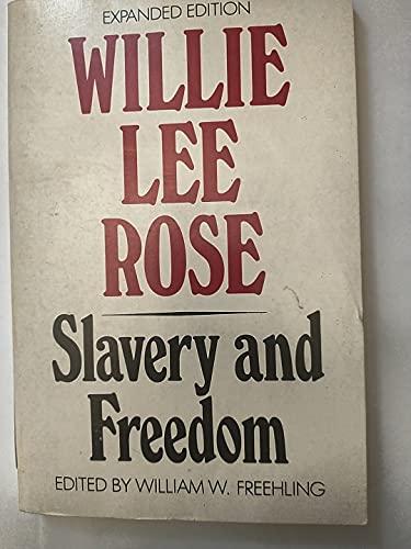 9780195032666: Slavery and Freedom (Galaxy Books)