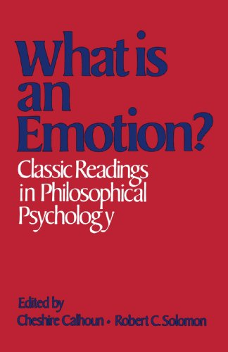 9780195033045: What Is an Emotion?: Classic Readings in Philosophical Psychology