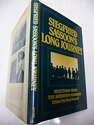 9780195033090: Siegfried Sassoon's Long Journey: Selections from the Sherston Memoirs