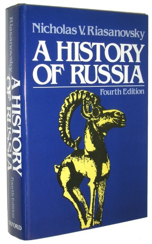 9780195033618: A History of Russia, 4th Edtion