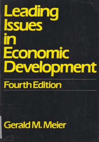 9780195034158: Leading Issues in Economic Development: Studies in International Policy