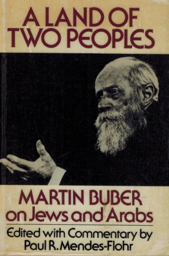 9780195034264: A Land of Two Peoples: Martin Buber on Jews and Arabs