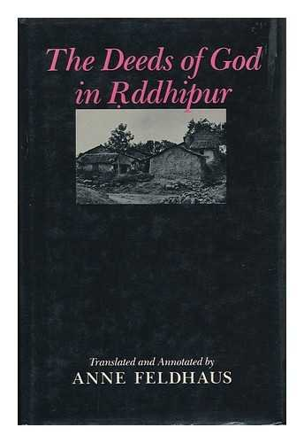 9780195034387: The Deeds of God in Rddhipur
