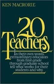 9780195034646: Twenty Teachers