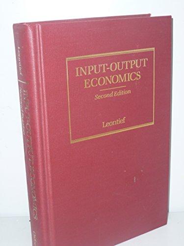 9780195035254: Input-Output Economics