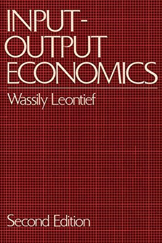 9780195035278: Input-Output Economics