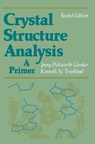 9780195035438: Crystal Structure Analysis: A Primer