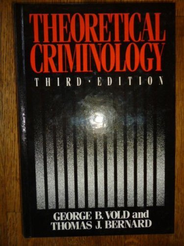 9780195036169: Theoretical Criminology