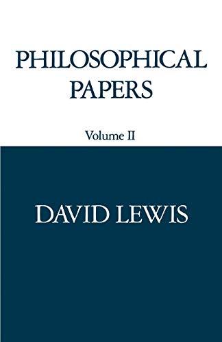 9780195036466: 2: Philosophical Papers: Volume II
