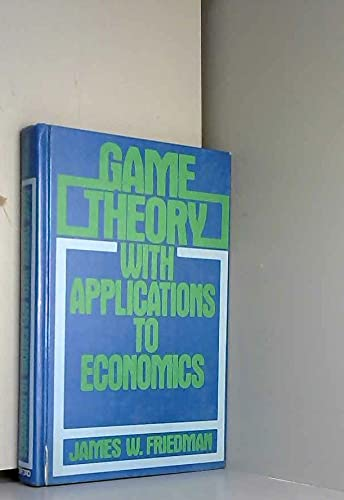 9780195036602: Game Theory with Applications to Economics