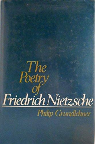 9780195036770: The Poetry of Friedrich Nietzsche