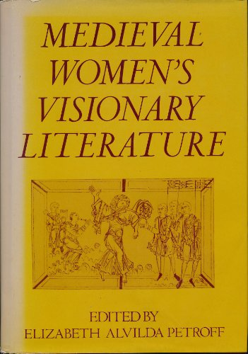 9780195037111: Medieval Women's Visionary Literature